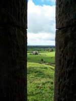 Hore Abbey from an Arrow Slit in the wall of the Rock of Cashel