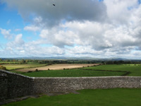 View of the countryside from the Rock of Cashel