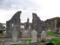 The Franciscan Abbey Ruins in Donegal