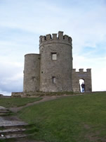 Tower at the Cliff of Moher