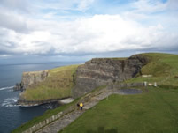 Another View from the Tower at the Cliffs of Moher