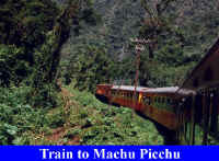 Peru Train To Machu Picchu